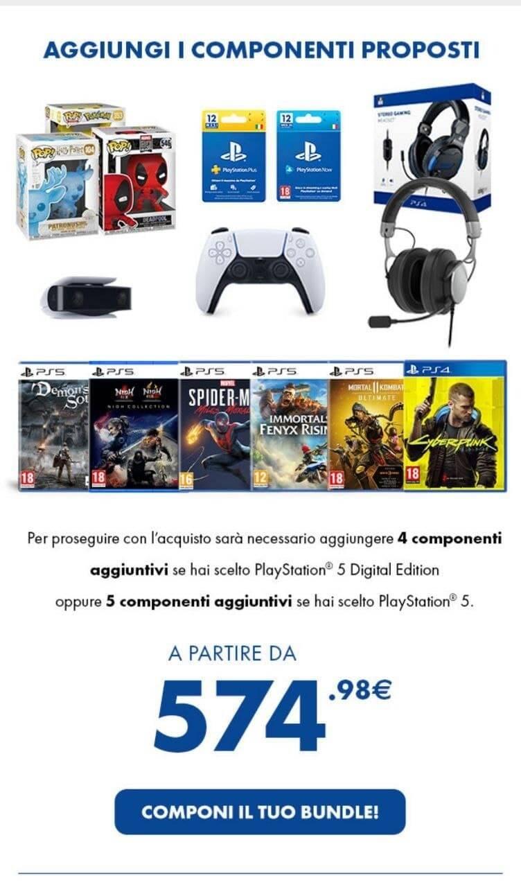 bundle ps5 gamestop - aprile 2021