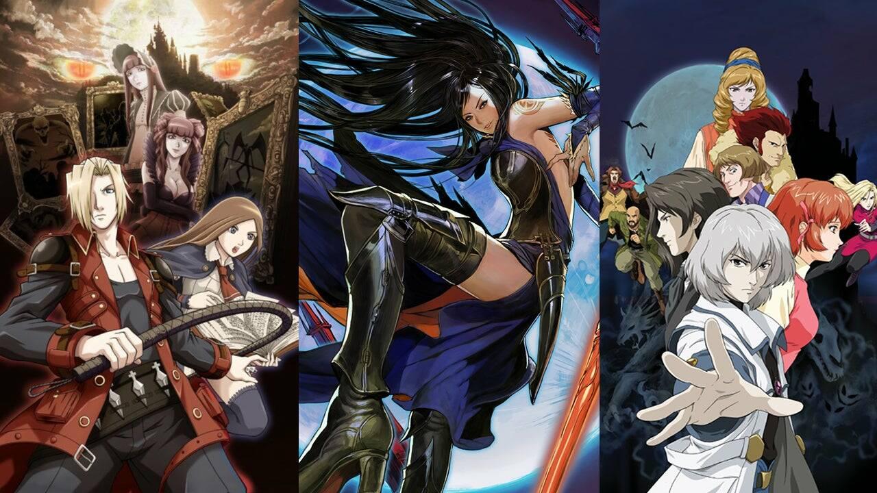 Castlevania DS art