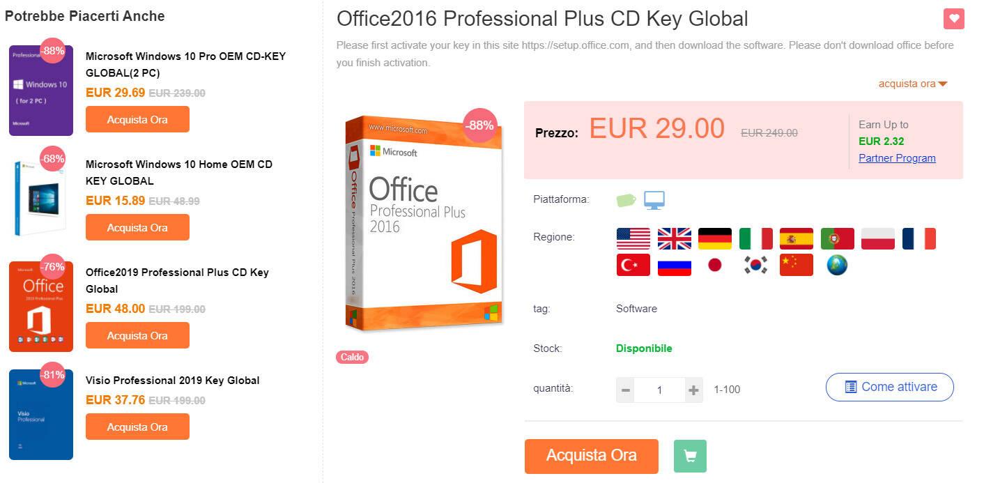 CDKoffers Office 2016 Pro Plus