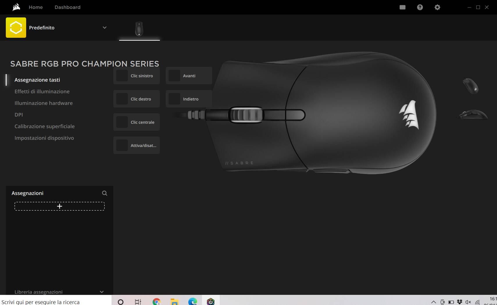 Corsair iCUE 4 Sabre RGB Pro