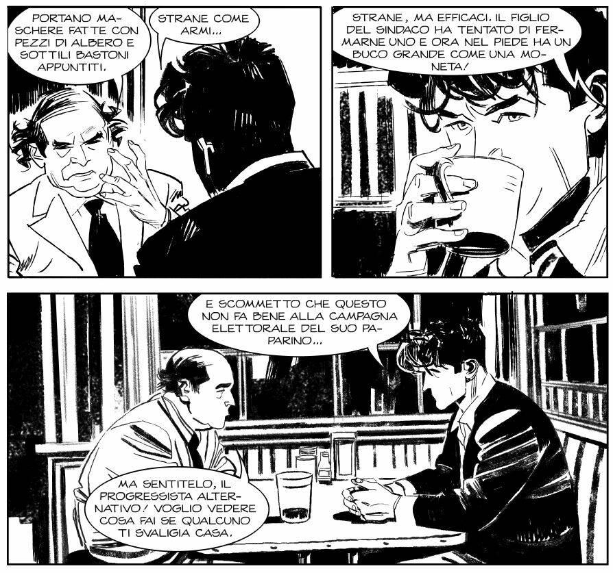 Dylan Dog 415: Vendetta in maschera