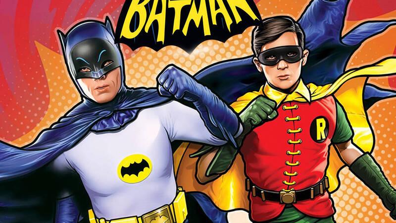 Adam West's Batman from today on Rai 4