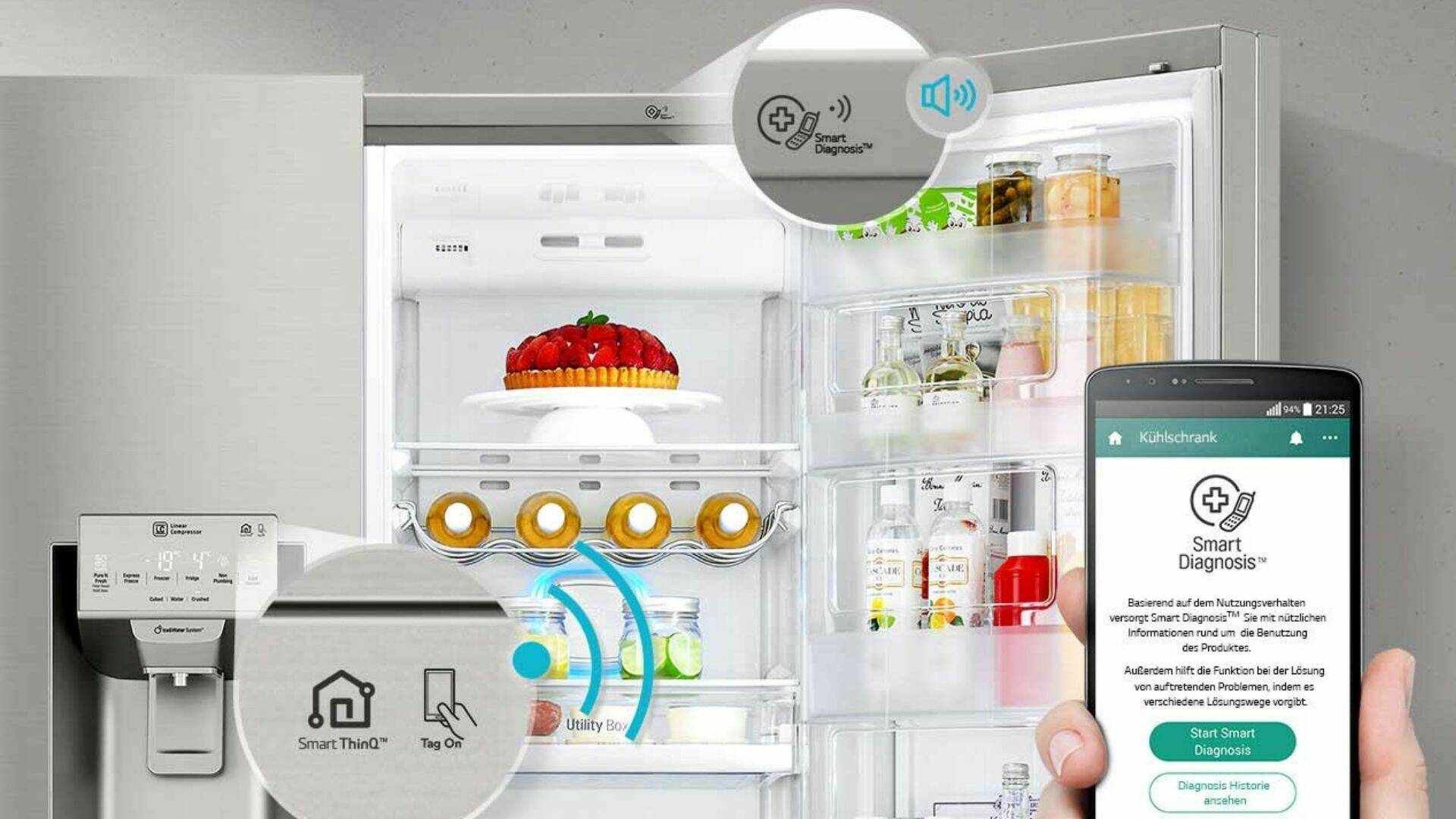 frigorifero LG GSB470BASZ