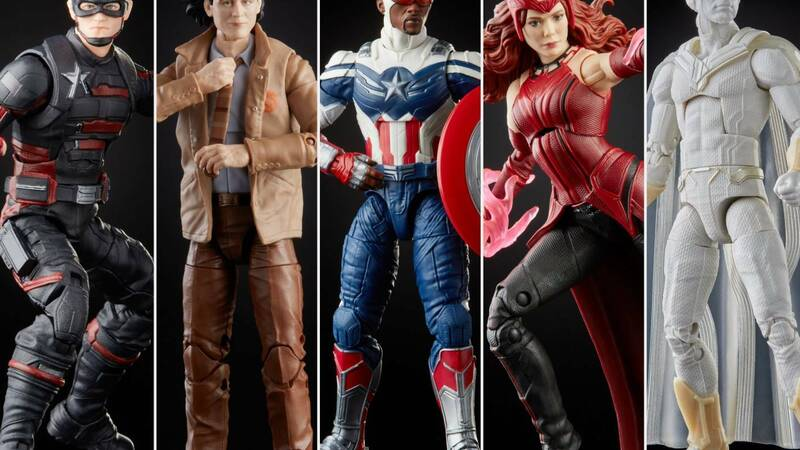 Hasbro, the new Wave Marvel Legend Series from Disney Plus