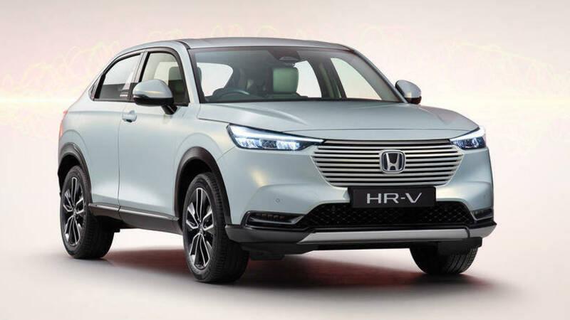 New Honda HR-V 2021: now with 129 hp hybrid powertrain