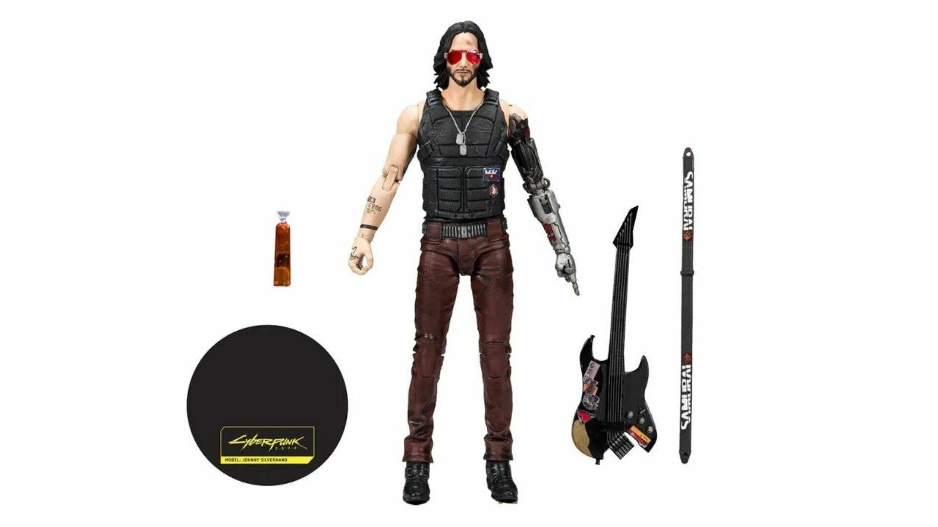 johnny silverhand action figure cyberpunk 2077