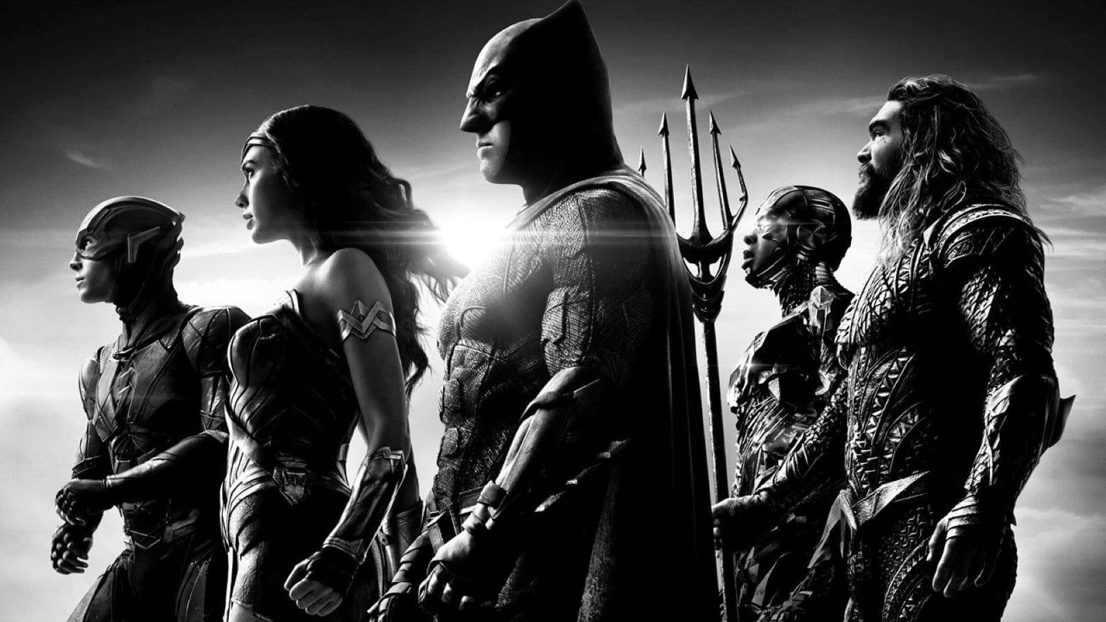 Justice League bw