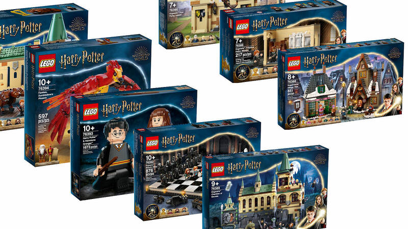 The new LEGO Wizarding World sets: announced and (some) already in pre-order