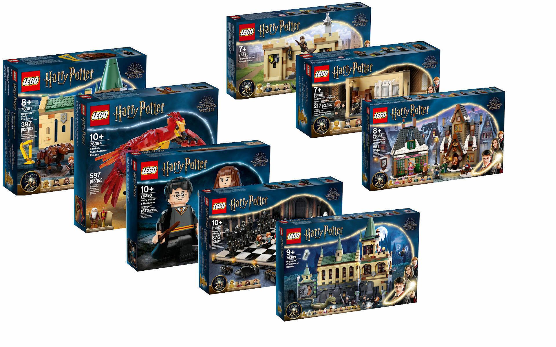 LEGO HARRY POTTER SUMMER WAVE 2021