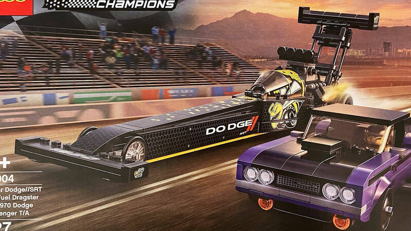LEGO Speed Champions 2021: first images of one of the upcoming sets