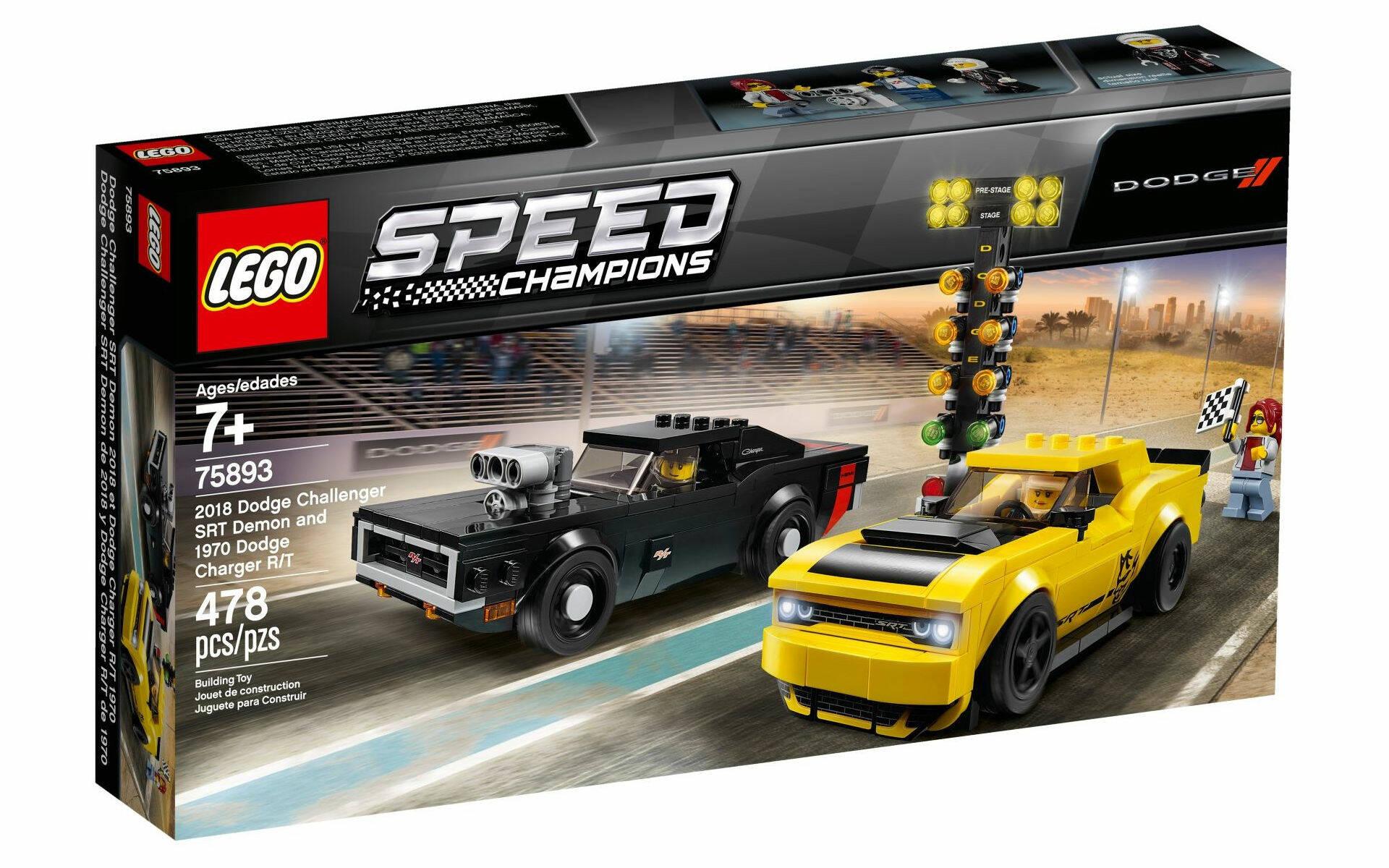 LEGO SPEED CHAMPIONS 2021