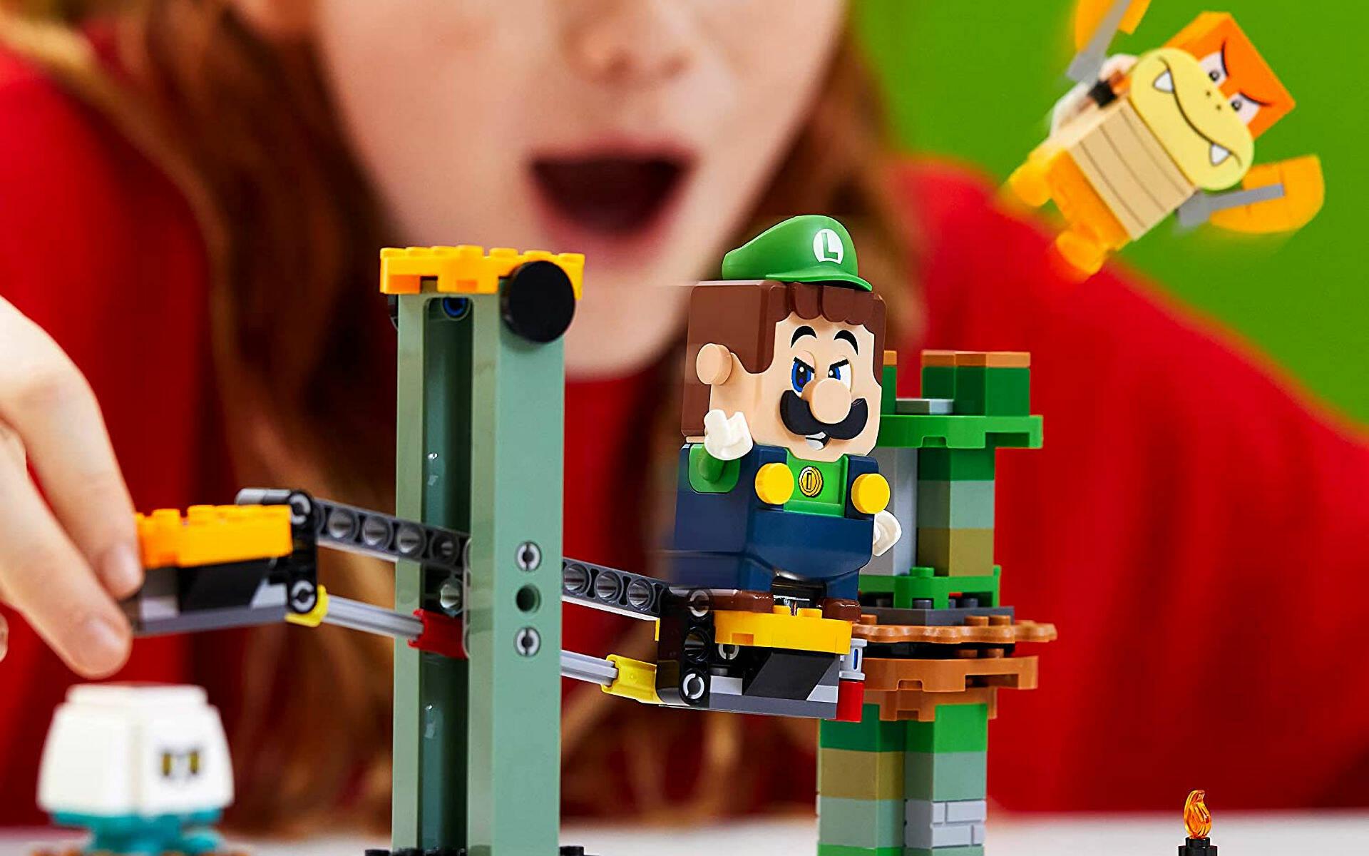 LEGO SUPER MARIO - LUIGI
