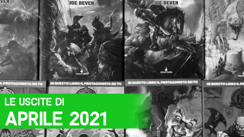 Librogame: the new releases of April 2021
