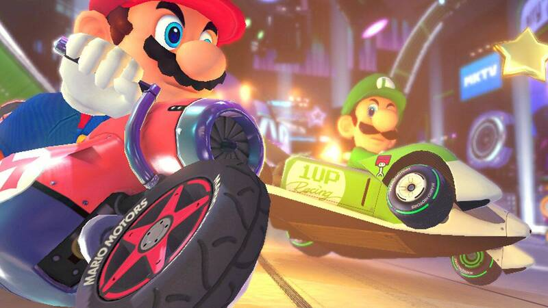Record-breaking Mario Kart 8, only best seller on Switch