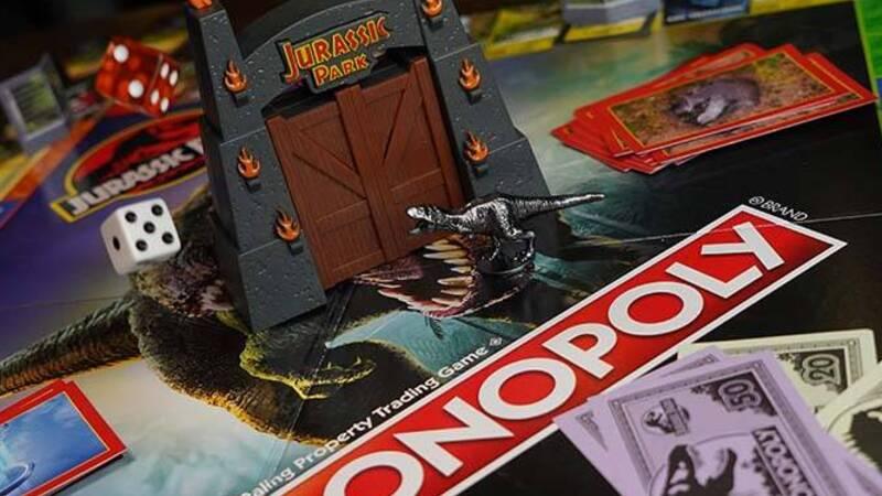 Hasbro announces Monopoly Jurassic Park