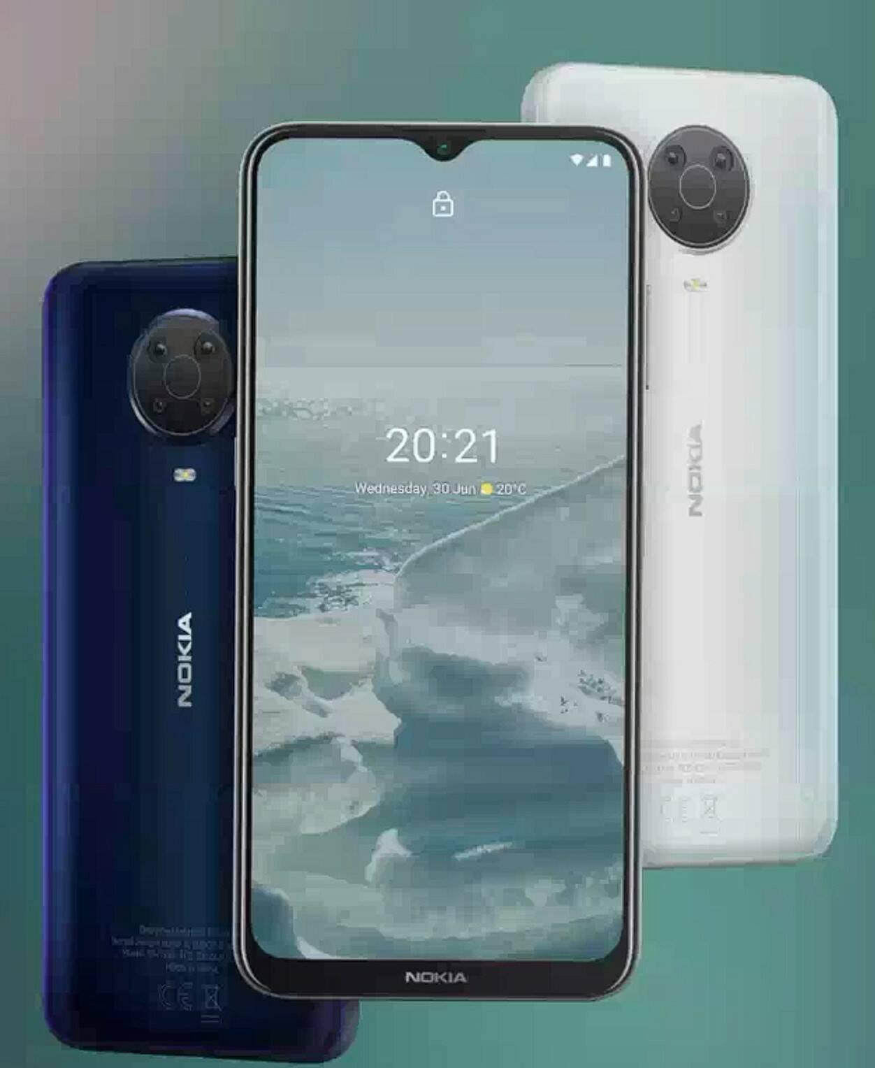 Nokia C20, G20 e X20