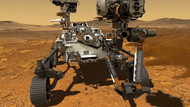 The Perseverance rover finally begins its mission