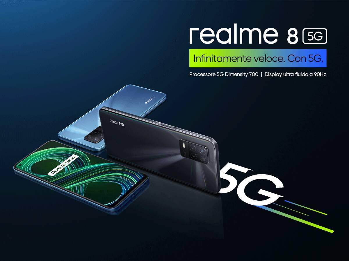 realme 8 + realme 8 5G