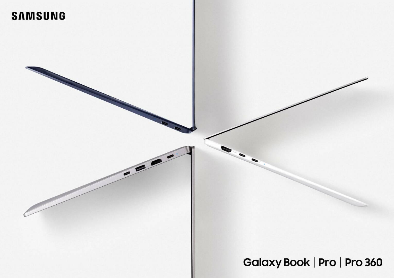 Samsung Galaxy Book cover trio