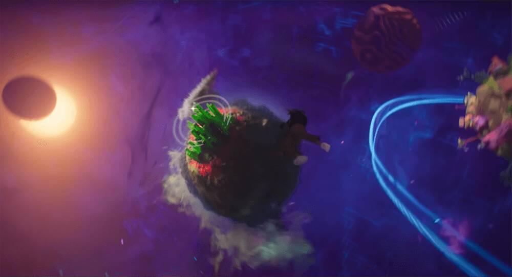 Space Jam: New Legends easter egg