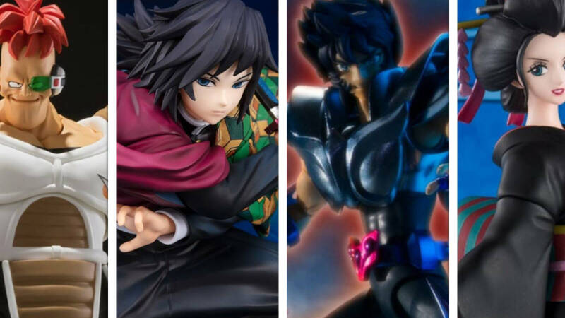 Tamashii Nations - Bandai, the releases of April 2021