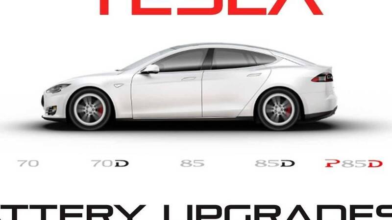 Tesla Model S: upgrade to 90 kWh for older models