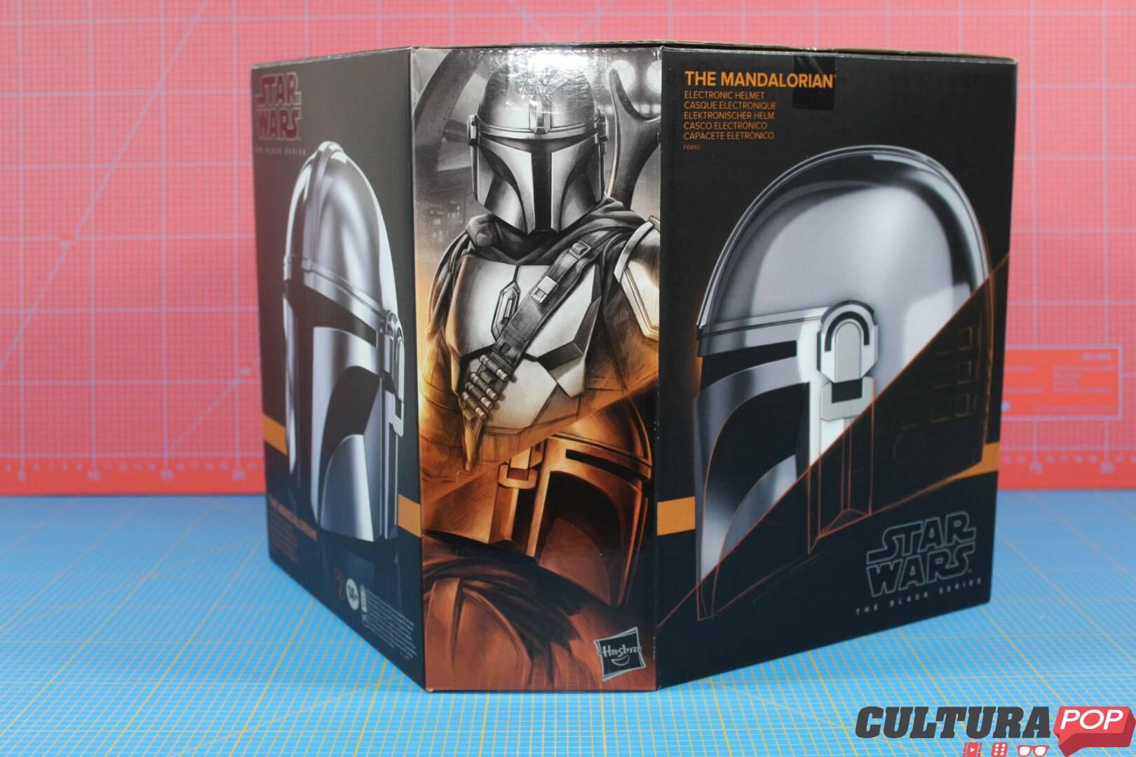 the mandalorian casco elettronico
