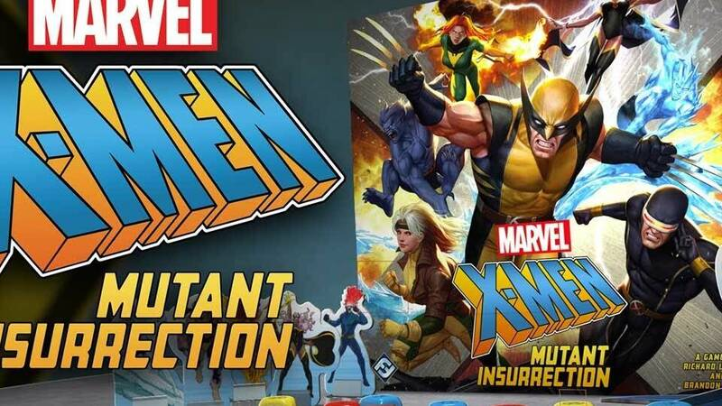 X-Men: Mutant Insurrection, Marvel mutants become a card game