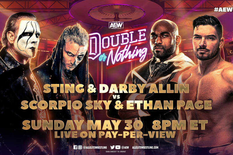 AEW Double or Nothing 2021: la card del PPV