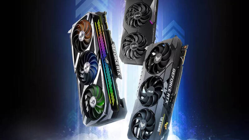 ASUS, many new video cards ready to invade Russia