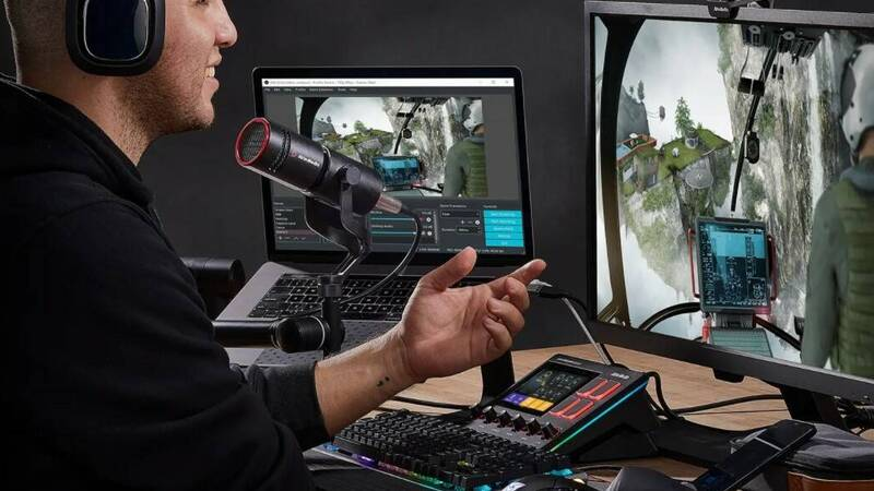 AVerMedia Live Streamer NEXUS and MIC 330, here is mixer and microphone for professional streaming
