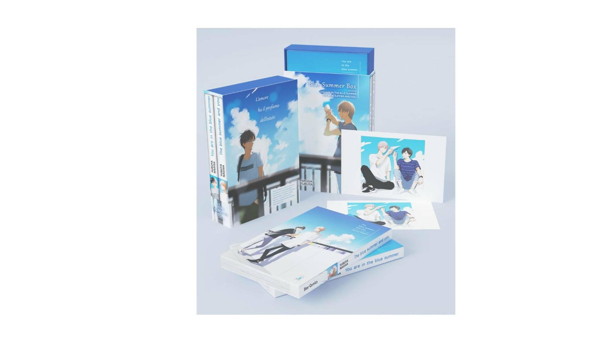 Blue Summer Box