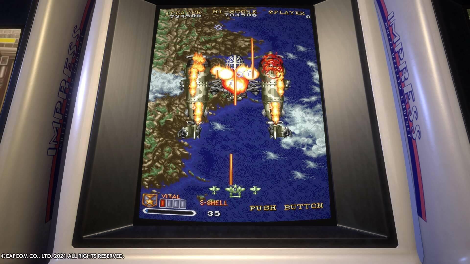 Capcom Stadium Arcade out2