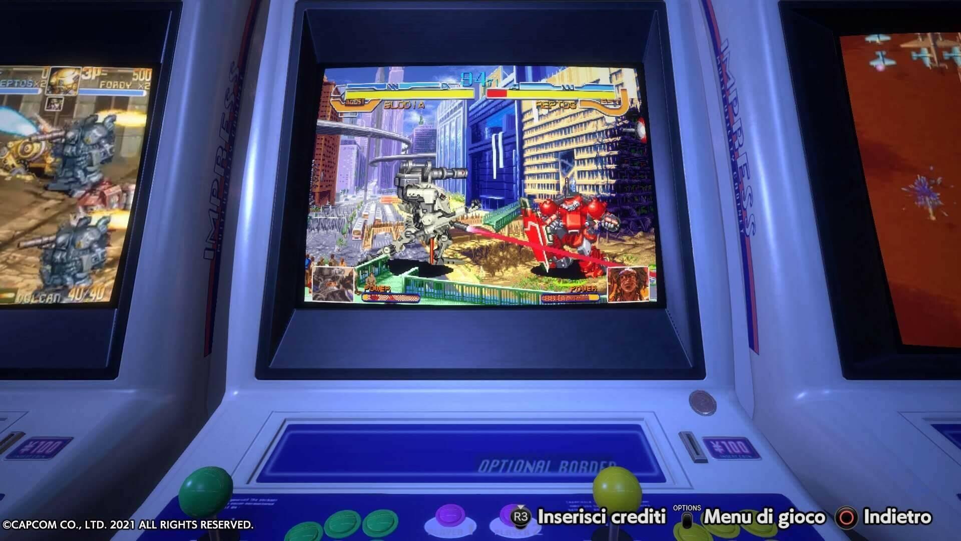 Capcom Stadium Arcade out1