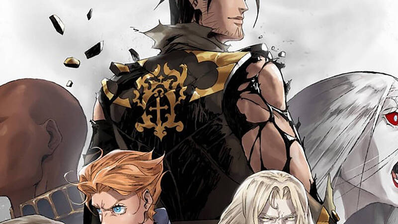 Castlevania 4: the presentation posters of the new characters