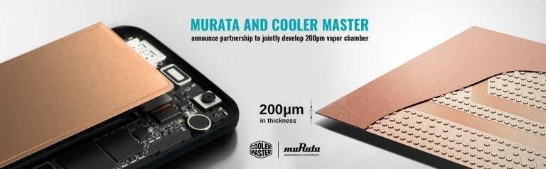 Cooler Master e Murata Dissipatore 200 micron