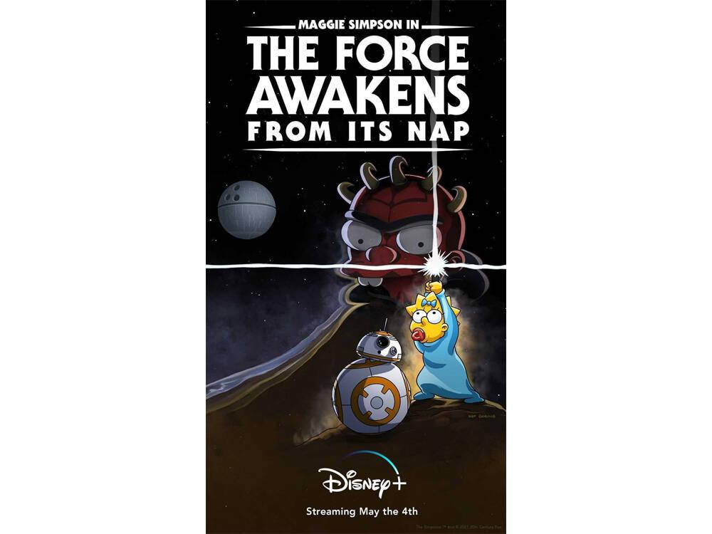 Corto Star Wars Simpson