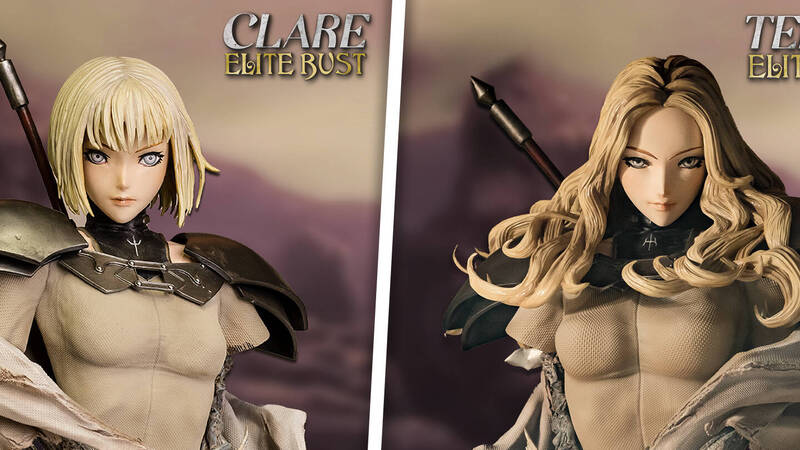 Figurama Collectors, here are Claire and Teresa for the Elite Bust line