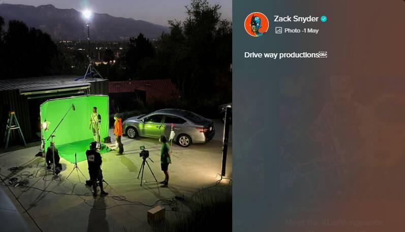 Lanterna Verde Zack Snyder's Justice League 1