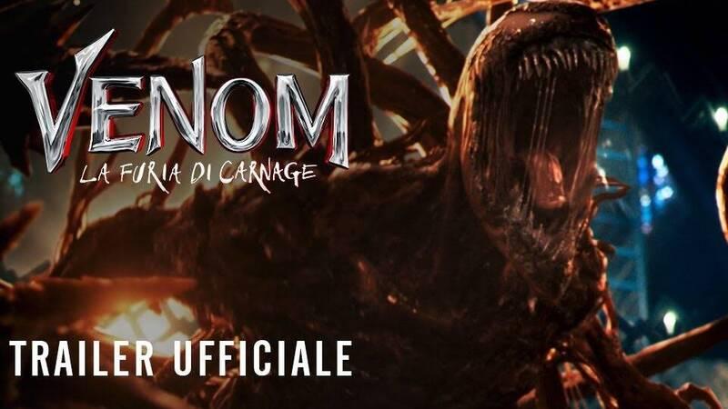 Venom: The Fury of Carnage, the Italian trailer