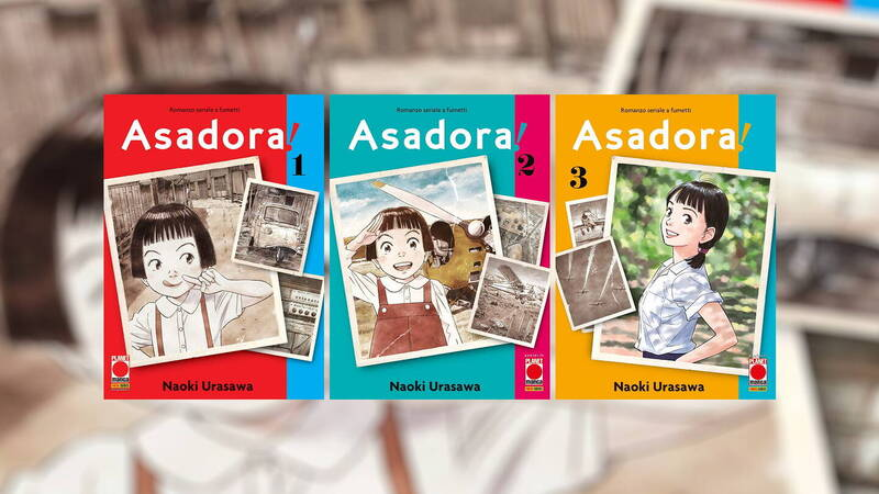 Asadora !, the review of the first 3 volumes of the new manga by Naoki Urasawa
