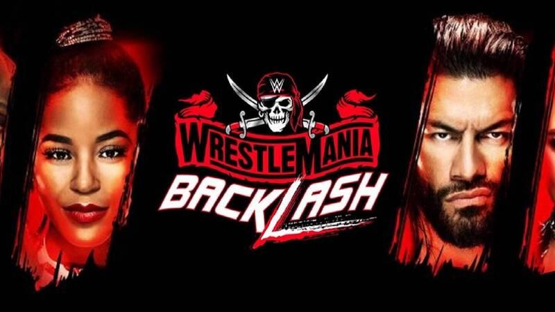 WrestleMania Backlash 2021: the PPV card