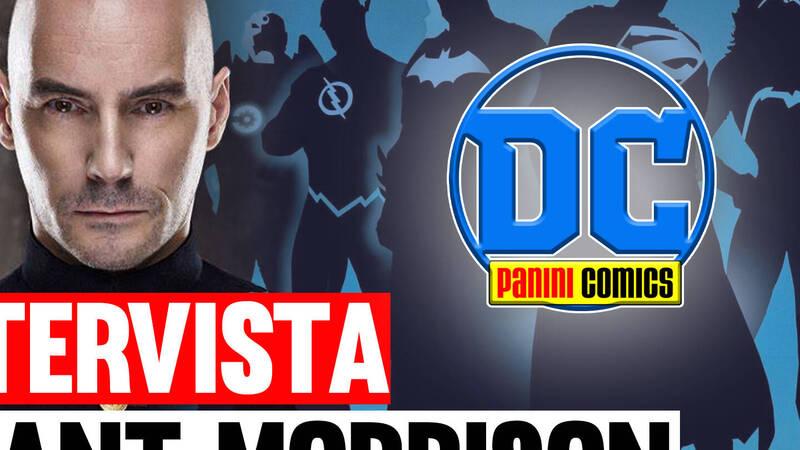 Panini DC Italia interviews Grant Morrison, an exclusive clip for Cultura POP