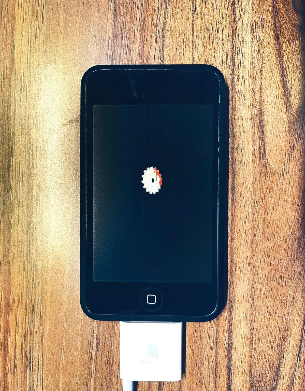 Giulio Zompetti prototipo iPod Touch