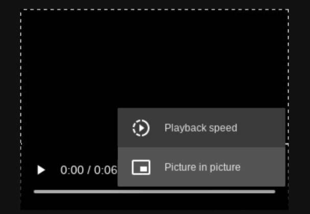 Google Chrome Media Playback