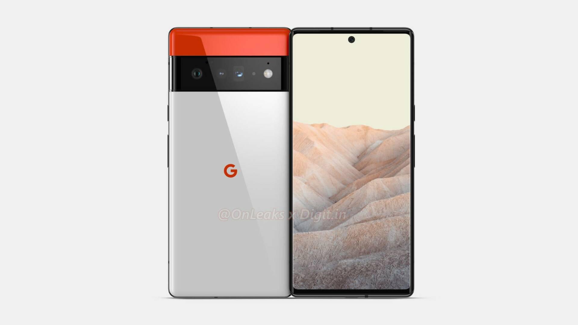 Google Pixel 6 Pro OnLeaks