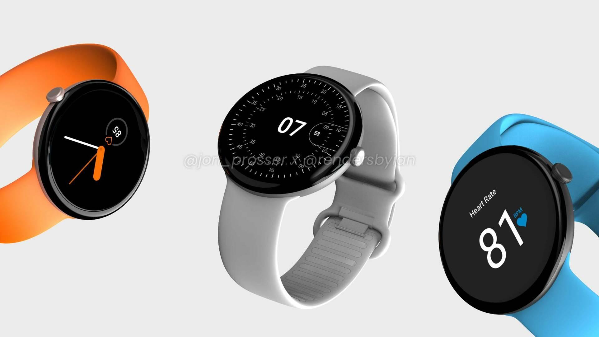 Google Pixel Watch - render FPT