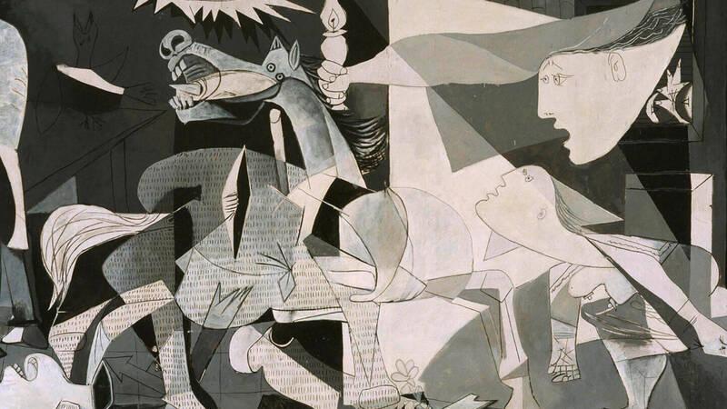 Pablo Picasso e la Guernica di cioccolat …
