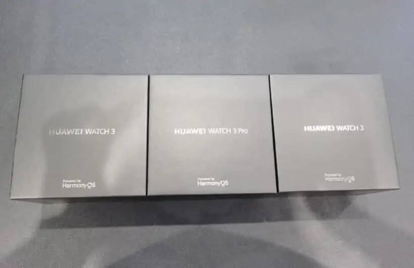 Huawei Watch 3 e Watch 3 Pro leak