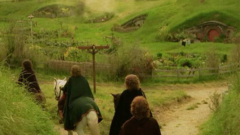 The Lord of the Rings: the county in Abruzzo rebuilt